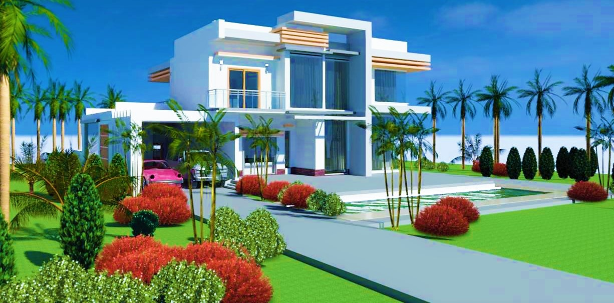 Two Storey Modern House Design
