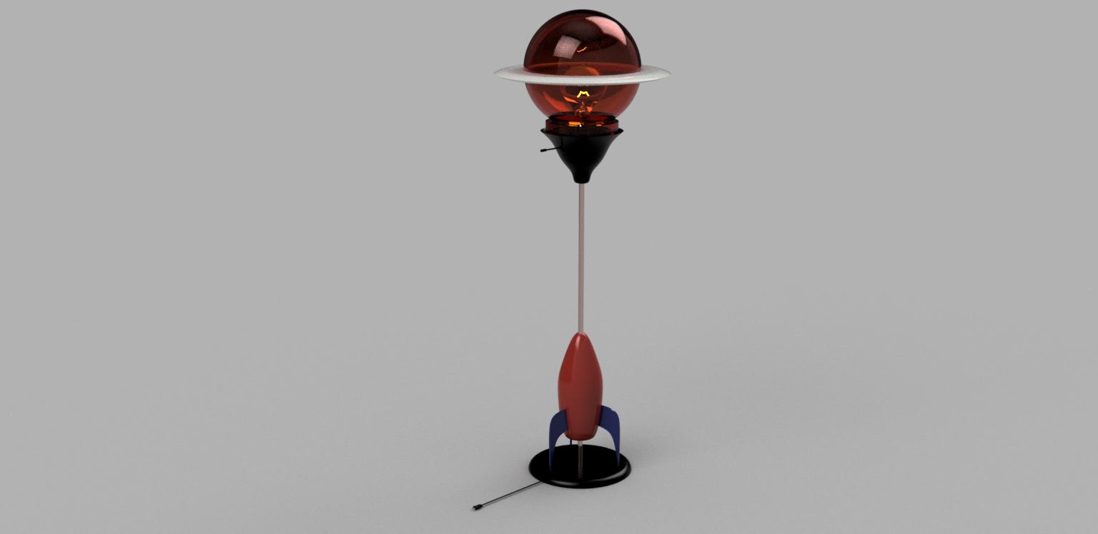 Rocket lamp png | Design Academy