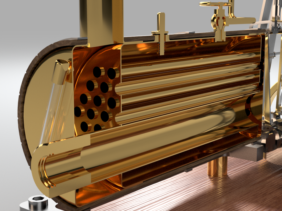 Steam Engine (boiler) png | Design Academy