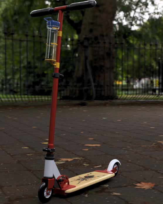 kick scooter assembly