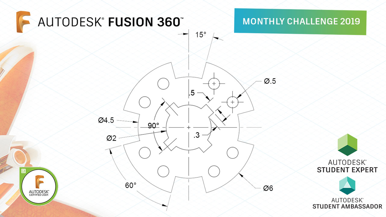 Fusion 360 Monthly Challenge 2019 May Jpg Design Academy