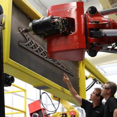 hybrid manufacturing Franck Messmer Johnny van der Zwaag LASIMM project