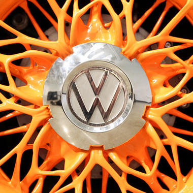 generative manufacturing vw steering wheel design