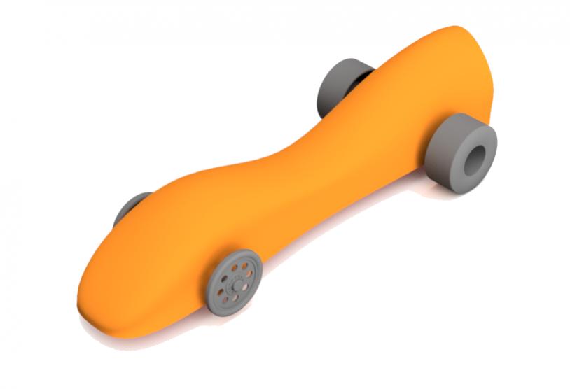 Integrated Cadcamcnc Create A Co2 Car