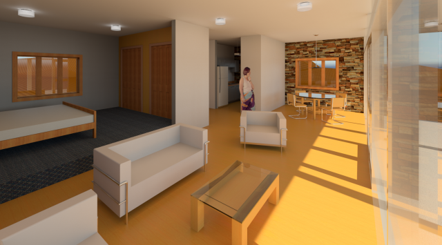Revit Beach House Design