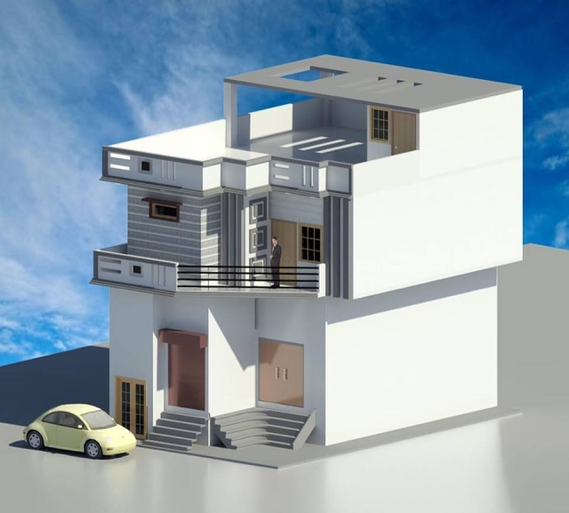 Front Elevation In Revit Architecture
