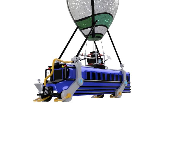 Speed Design Fortnite Battle Bus