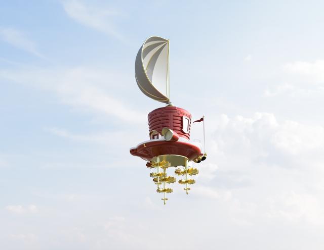 Super Mario Odyssey Ship Model