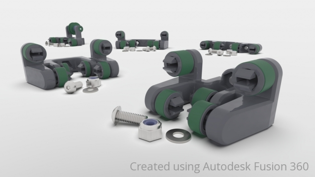Rendered Image of Advanced Linear Motion Kit