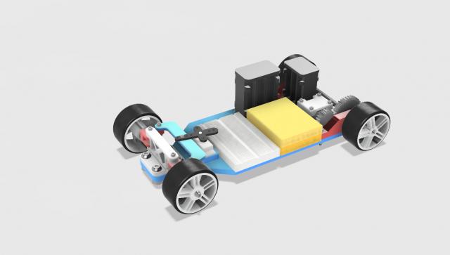 3D Printed Arduino RC Car