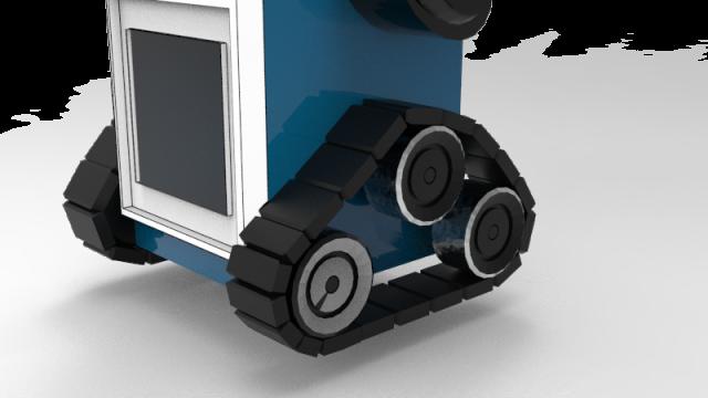 side render of tool kit bot
