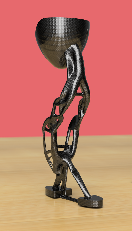 Generative Design Prosthetic leg (1 of 3)