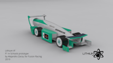 F1 IN SCHOOLS WORLD FINALS CAR