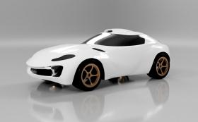 Car Design Speedrun 1 - Using Autodesk Fusion 360 - sports car
