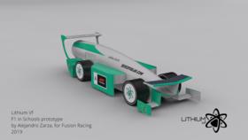 F1 IN SCHOOLS WORLD FINALS CAR