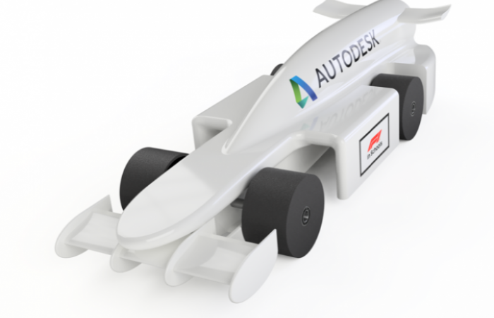 Design A Race Car For F1 In Schools Using Fusion 360